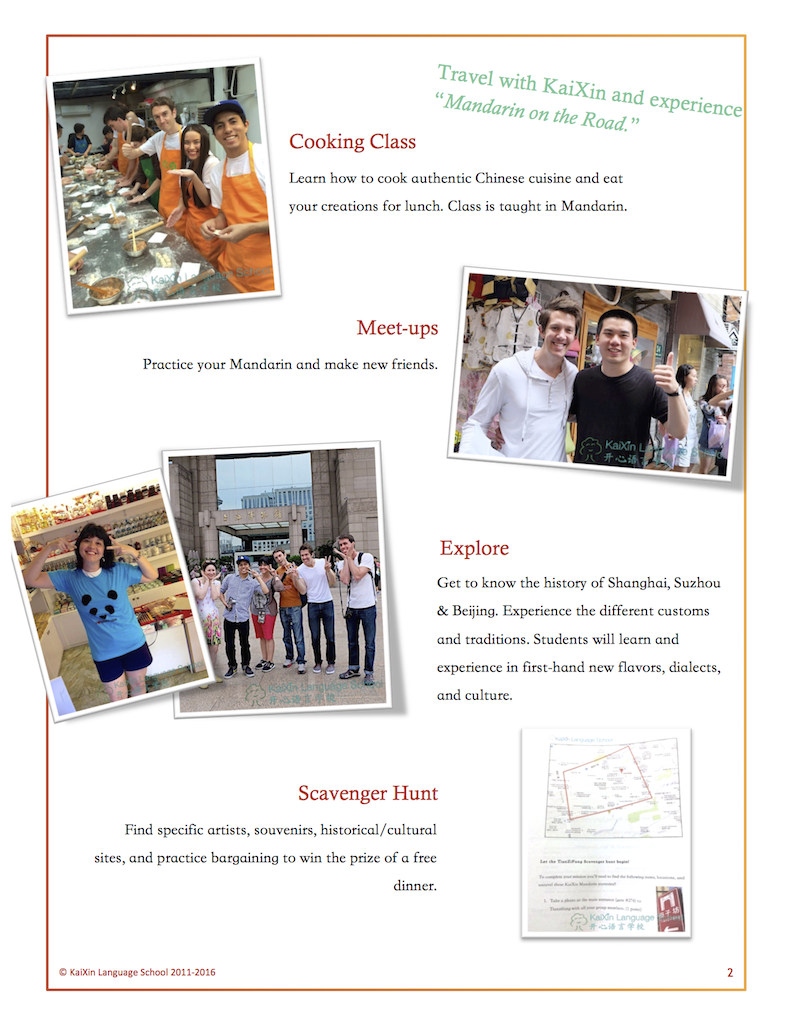 2016 Mandarin on the road Flyer - Page 2